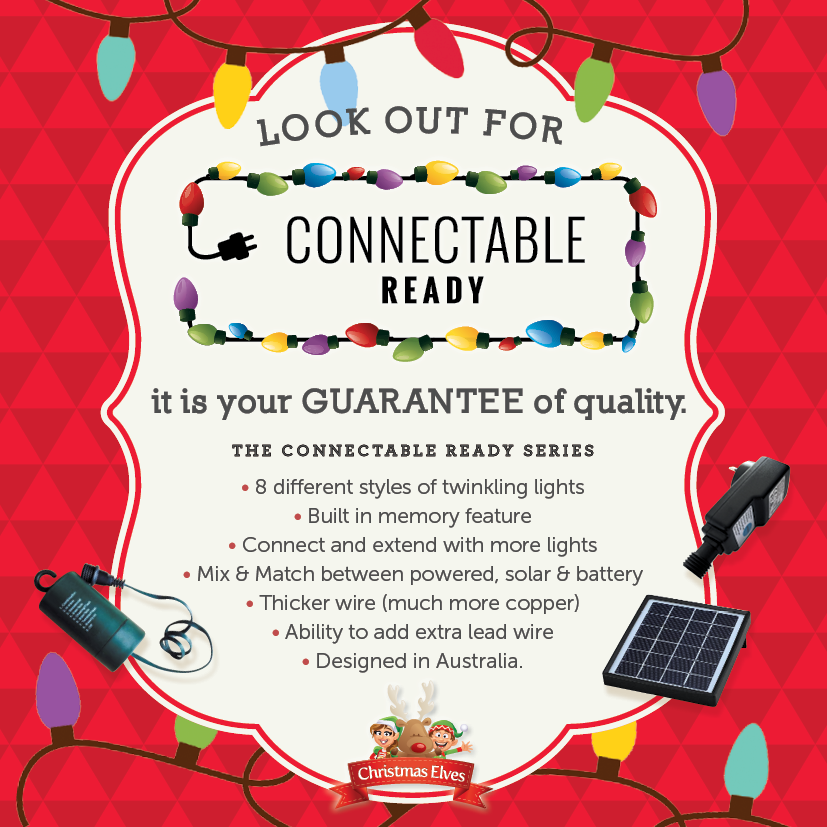 Connectable Ready Christmas Lighting