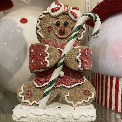 Christmas Elves, Gingerbread Man
