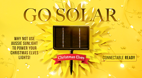 Christmas Elves Go Solar