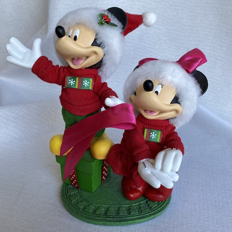 Christmas Elves, Mickey and Minnie