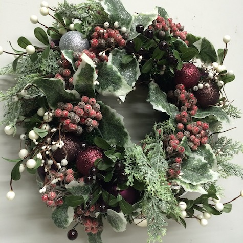 Christmas Elves, Wreath